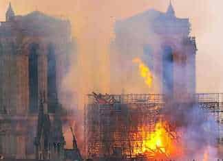 Un terrible incendie a ravagé une grande partie de Notre-Dame, à Paris.