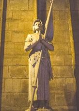 Le symbole de Jeanne d'Arc sert à fêter la Libération française, en 1945.