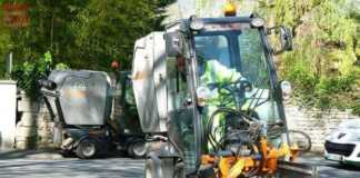 des véhicules de nettoyage à Douai