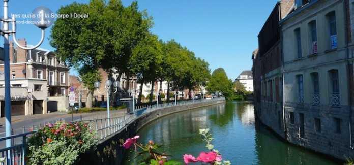 une vue de Douai