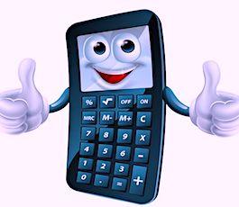 une calculette pour illustrer la baisse d'impôt sur le revenu