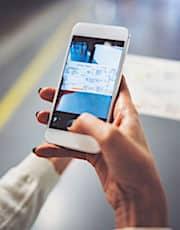 Le smartphone doit prendre progressivement la place du ticket de métro.