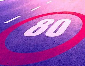 Rouler à 80 km/h est mal vécu par de nombreux automobilistes.