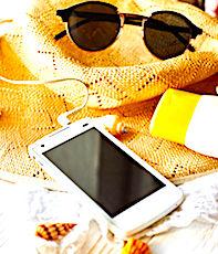 La chaleur excessive est un danger pour les smartphones.