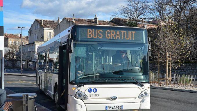 un autobus gratuit