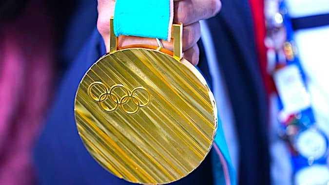 Cropped Les Me Dailles Olympiques Des Prochains Jo Au Japon Proviennent Dun E Norme Recyclage
