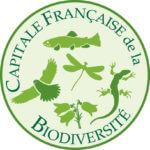 """le logo de """"capitale française de la biodiversité"""""""
