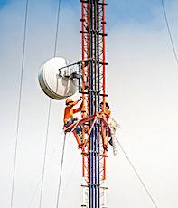 La 5G est parfois soupçonnée d'émettre des ondes jugées dangereuses.