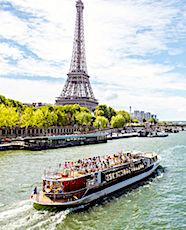 La Seine pourrait prochainement accueilir des taxis futuristes, les SeaBubbles.