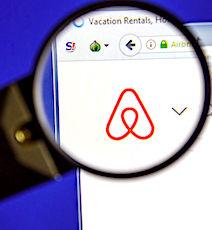 Les locations d'Airbnb ont fait un bond en France.