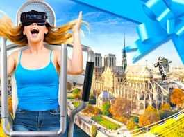 L'Impossible Visite est la nouvelle attraction culturelle de FlyView Paris.