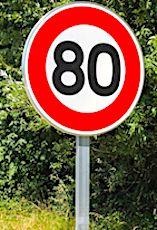 La limitation de vitesse à 80 km/heure est encore contestée dans certains départements.