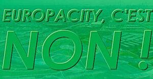 un non pour abandon d'EuropaCity
