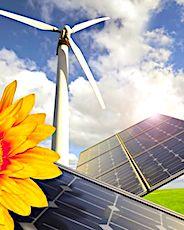 éoliennes et panneaux solaires en remplacement du nucléaire