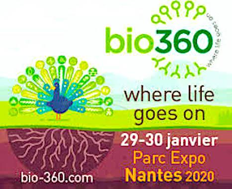 A Nantes, le Salon bio360 durera pendant deux jours.