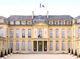 """Au palais de l'Elysée, le """"Fabriqué en France"""" a été mis en valeur pendant deux jours."""