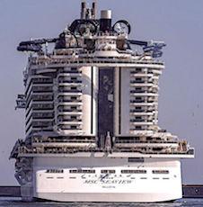 L'apport financier que représente la commande de deux paquebots par MSC Croisières est considérable.